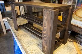 Diy Wood Rack Plans by Diy Pallet Shoe Rack Bench Ndw Design Blog