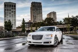 chrysler car white upshift test drive chrysler 300 awd