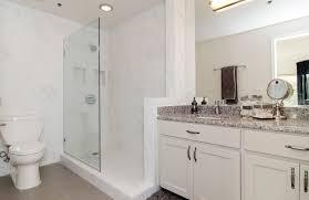 we love glam glass shower