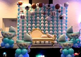 baby shower balloon decoration pics baby shower decoration