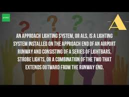 Approach Lighting System What Is Approach Lighting System Youtube