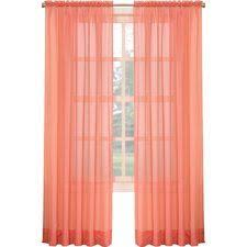 Orange Panel Curtains Pale Gray And Burnt Orange Linen Color Block Curtain Single Panel