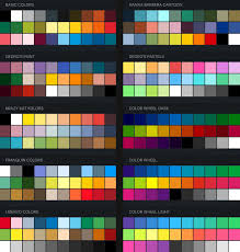 color swatches georg s procreate brushes free procreate color swatches 22