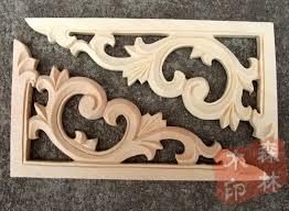 decorative wood carvings wood antique furniture dongyang wood carving corner flower fashion