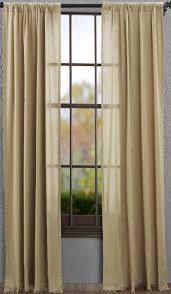 Curtain Place Tobacco Cloth Khaki Curtain Panel 84 In Allysons Place