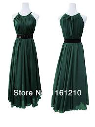 aliexpress com buy dark green formal bridesmaid wedding party