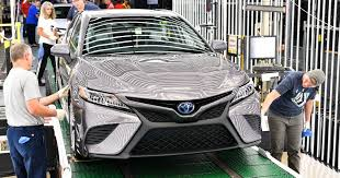 2018 toyota camry production kicks off in kentucky