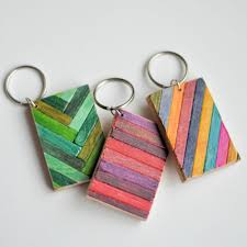 wooden keychains the gift wooden key chain design
