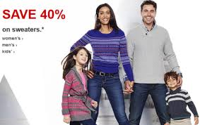 target save 40 sweater for the whole family free