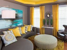 yellow color combination grey and yellow combination for living room colors