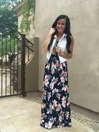 maxi dress dream teacher fashionista