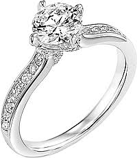 carved engagement rings carved engagement rings and settings