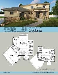 Wide Lot Floor Plans 2 Story Mediterranean House Plan Sedona