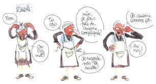 cinq vérités sur la cuisine démontrées en bd les petits miquets