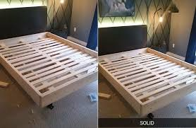 Bed Frame Used Diy Bed Frame With Lighting Underneath