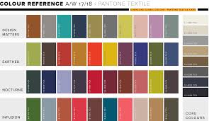 wgsn fw17 18 colour forecast trends pinterest aw17 winter