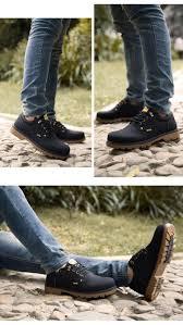 trend men boots fashion new autumn winter england wind desert