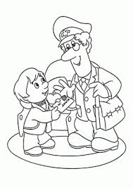 santa letter coloring page cartoons coloring pages for kids free printable