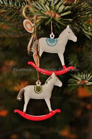maileg rocking ornament set of 2