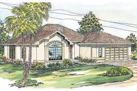 Spanish Style Homes Plans by Spanish House Plans Mediterranean Style Greatroom Courtyard Small