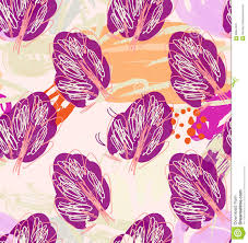 rough sketched trees purple stock vector image 88924501