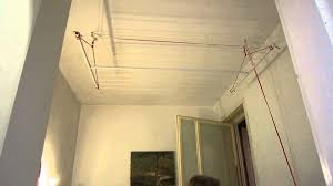 Diy Clothes Dryer Clothes Rack With Pulleys Youtube