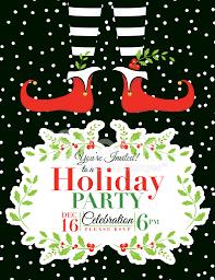 christmas party invitations templates cimvitation