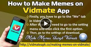 App For Making Memes - how to make memes on vidmate app by vidmateapkdownloader mixcloud
