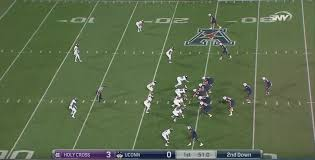 uconn football vs holy cross film review of the offense the
