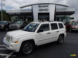 white jeep patriot 2017 2009 stone white jeep patriot limited 4x4 84565466 gtcarlot com