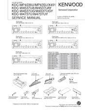 kenwood kdc x491 manuals