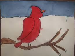 mrs porter u0027s palette 2nd grade winter cardinals
