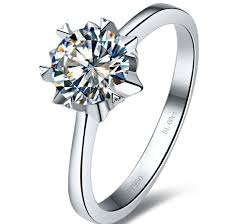 sunflower engagement ring get cheap sterling silver jewelry aliexpress