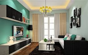 Interior Home Design - Color of living room