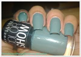 maybelline color show u0027fantasea green u0027 nail polish review the