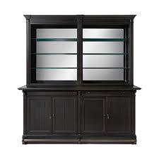 bar cabinet furniture athens double bar cabinet in tuxedo black arhaus furniture