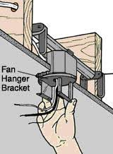 Installing A Ceiling Fan Box by Dixon Home Building Centre Install A Ceiling Fan