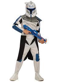 x wing fighter halloween costume child blue clone trooper leader rex costume clone wars halloween