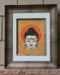 buddha wall art with paper quilling buddhism housewarming