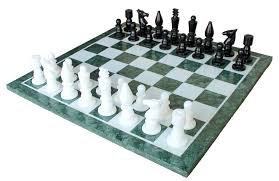 Minnesota travel chess set images 20 quot x 20 quot collectible green marble chess board game jpg