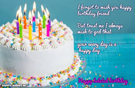 Wishing You A Happy Birthday Quotes Belated Happy Birthday Wishes Quotes Images Memes Happy Wishes