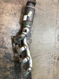 nissan titan exhaust manifold replacement brand new drivers side oe style exhaust manifold 04 12 135 obo