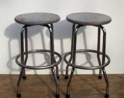 industrial stool etsy