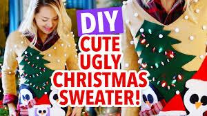 ann u0027s ugly christmas sweater challenge hgtv handmade youtube