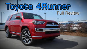 toyota full website 2017 toyota 4runner full review limited trd off road premium