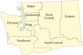 Map Of Washington State by File Map Of Washington State Department Of Transportation Regions