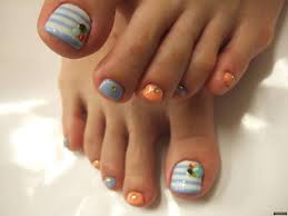 nail art for your beautiful feet nailkartcom 50 spring nail art
