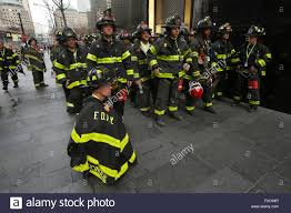 Firefighters Stair Climb by New York City Ny Usa 13th Mar 2016 Fdny Firefighters Wait To