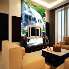 office design office wall murals home office wall decals office aliexpresscom buy fresh designs country landscape waterfall wallpaper 3d wall mural rolls for office living room hall hotel restaurant backdrop from office