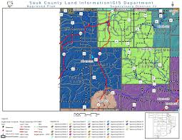 Wisconsin Breweries Map by County Supervisory Districts Sauk County Wisconsin Official Website